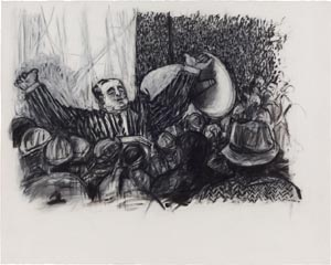 Kentridge W Drawing for Mine 300