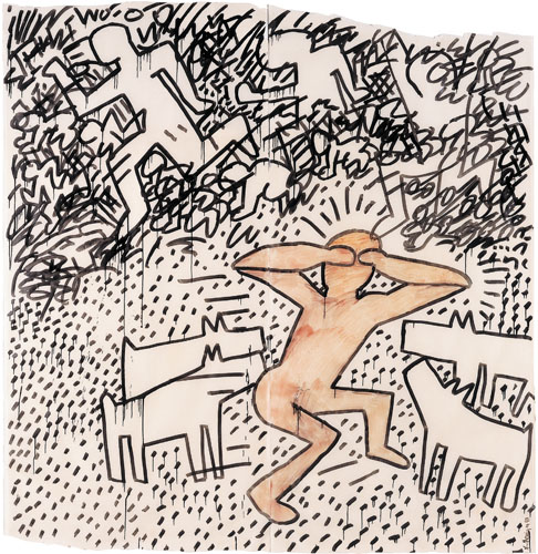 AAO_014_Keith_Haring_Untitled_1981