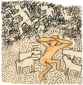 Haring K Untitled 1981 03 300