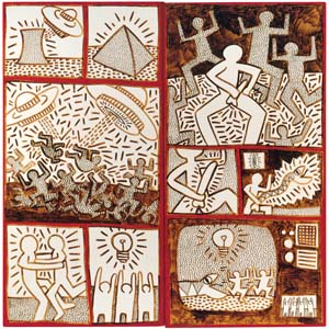 Haring K Untitled 1981 300