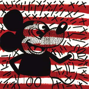 Haring K Untitled 1981 Mickey 300